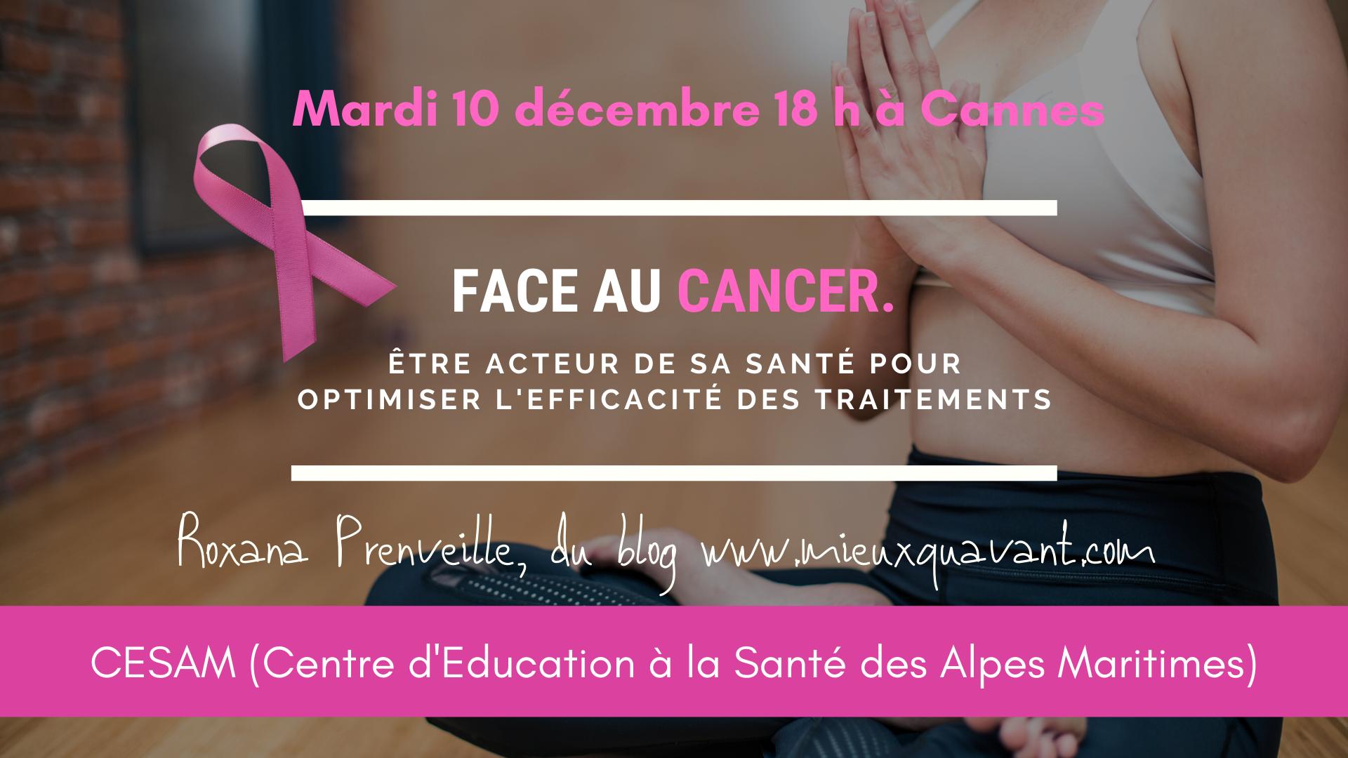 Face au cancer : Comment devenir acteur de sa santé ?